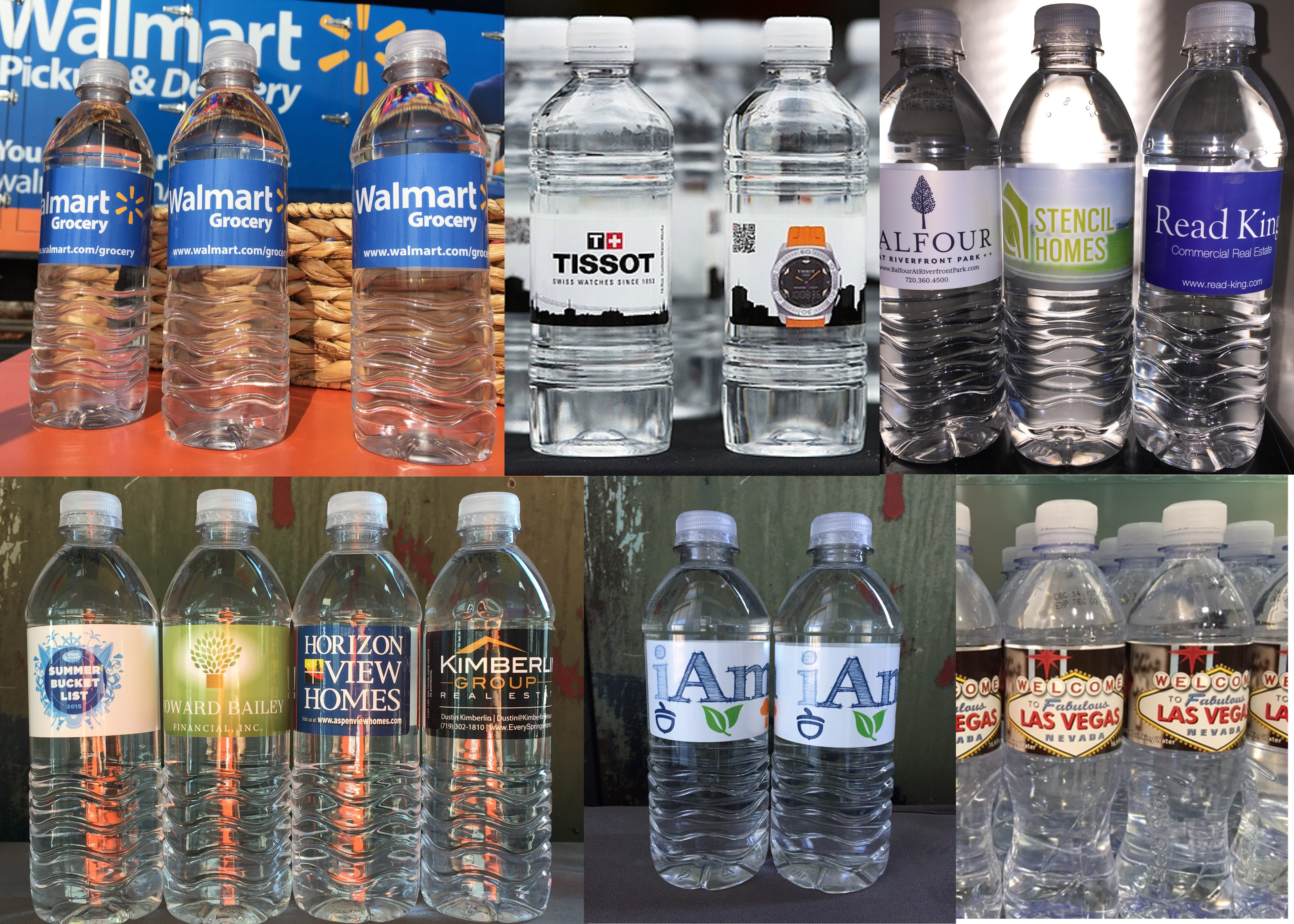 We can create a bottled water logo in Denver, CO, that's perfect for you