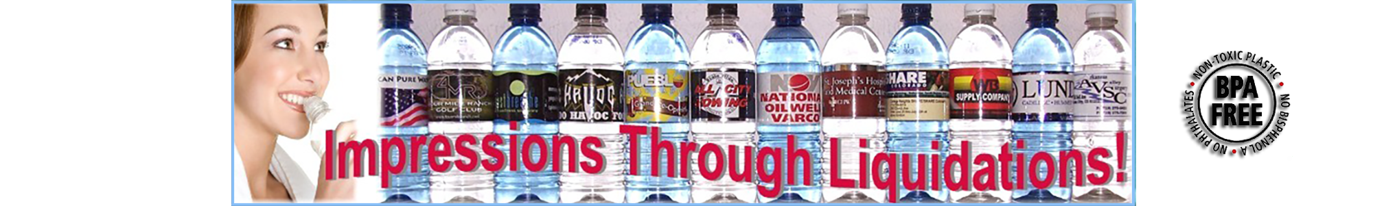Offering custom bottled water in Denver, CO